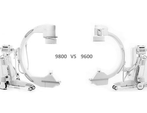 OEC 9600 C-Arm vs OEC 9800 C-Arm