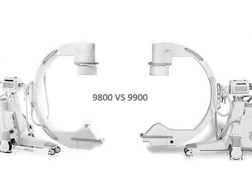 GE OEC 9800 C-Arm vs GE OEC 9900 C-Arm