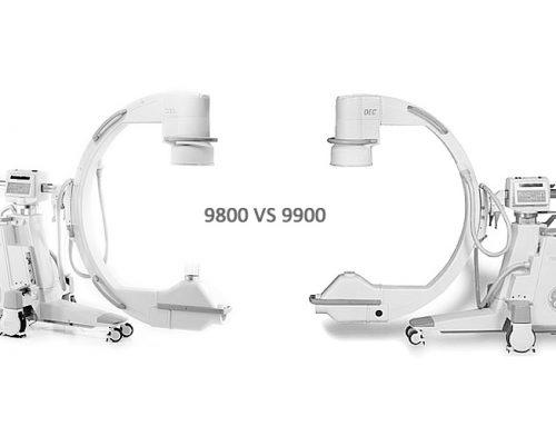 GE OEC 9800 C-Arm vs GE OEC 9900 C-Arm