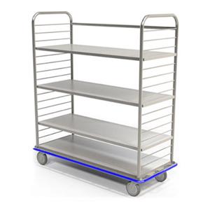 Mac Medical Open Case Carts
