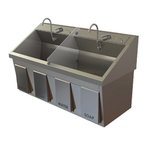 Mac Medical SS64 Scrub Sink