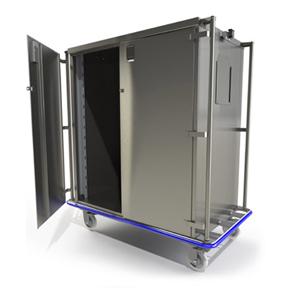 Mac Medical Vertical Handle Case Carts